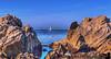 May 14, 2013 - The sail boat - at Monterey