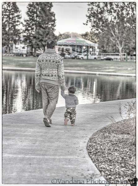 October 3, 2013 - a walk along the lake