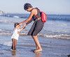 October 6, 2013 - Arjun enjoys the waters at Santa Cruz beach..<br /> <br /> Arjun has been scared of the cold waters, but grew in confidence over the past weekend - into the waters without fear !