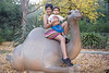 December 22, 2013 - On the camel ride, at the LA zoo !