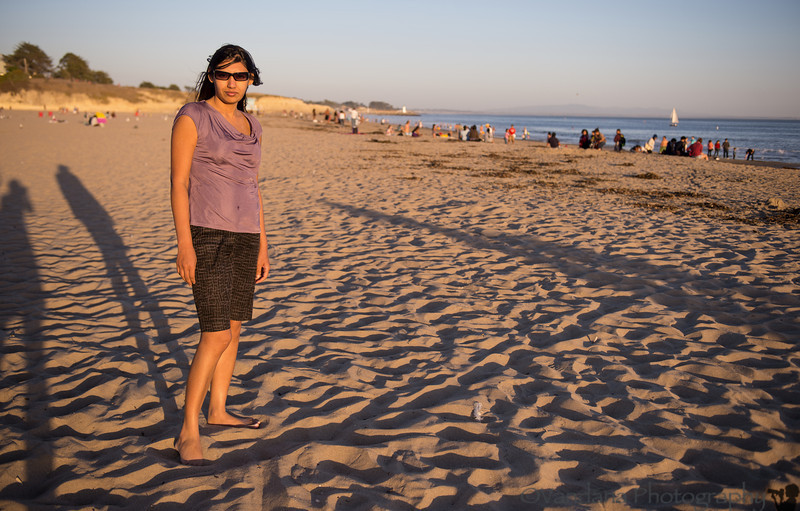 October 5, 2013 - a trip to Santa Cruz beach with Madhuchhanda Choudhary <br /> <br /> MC has been a good friend for the last 18yrs , met her in 2011 after many many years, and now meeting at least yearly..Good to see you, MC !