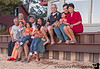 April 19, 2013 - The extended family at Lake Tahoe <br /> <br /> From left to right : Dad, K's Mom, Mom, Swami with Laia, Anu with Rhea, K's Dad, K with Arjun, Vandana