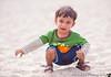 September 3, 2013 - Arjun at the Carmel beach