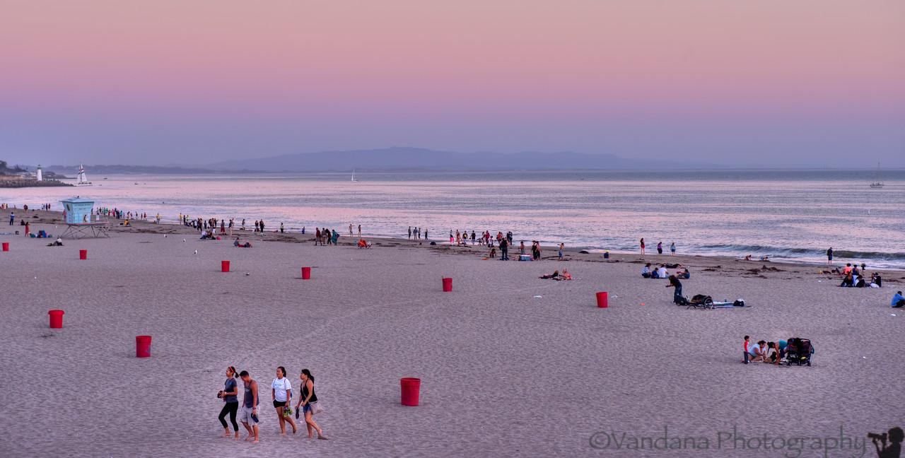 October 9, 2013 - Sunset at Santa Cruz
