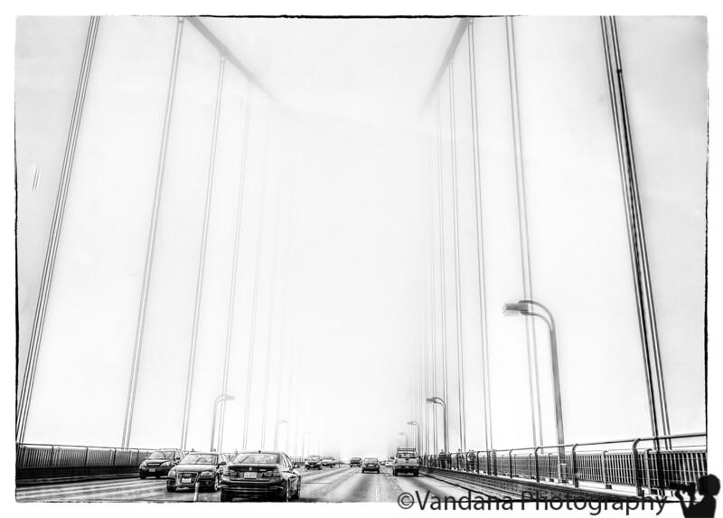 May 22, 2013 - Into the mist, at Golden Gate Bridge