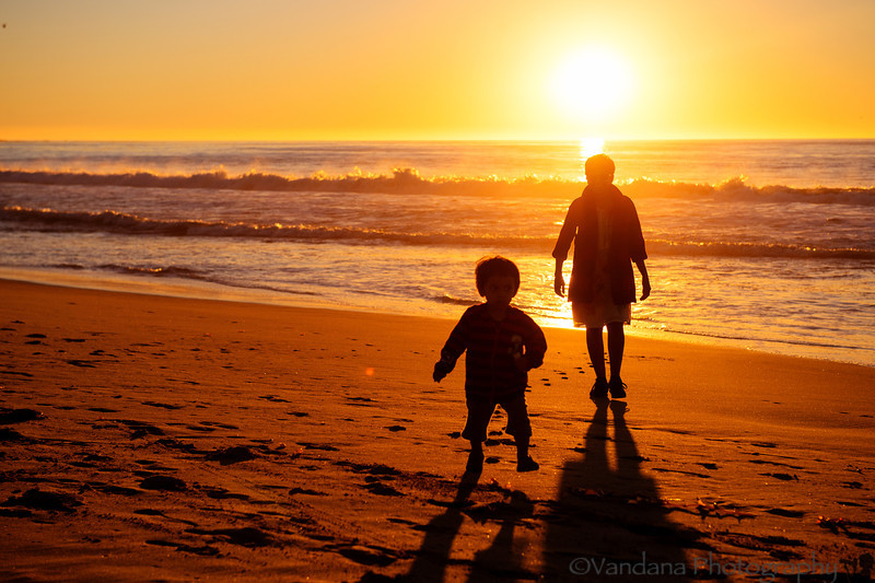 December 30, 2013 - Walking on the beach