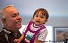 April 14, 2013 - Arjun with his grandpa ( K's Dad)