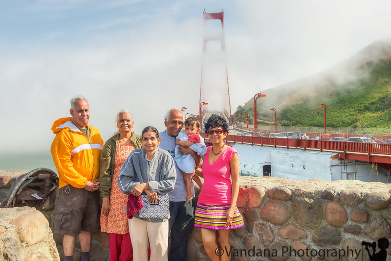 May 20, 2013 - The family visits Golden Gate Bridge