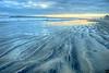 December 3, 2013 - a cloudy sunset over a Coronado beach, San Diego