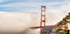 May 11, 2013 - The foggy Golden Gate Bridge