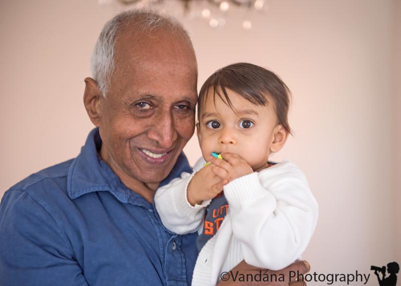 February 6, 2013 - Grandparents visiting !