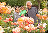 May 8, 2013 - Grandparents with Arjun at the gardens