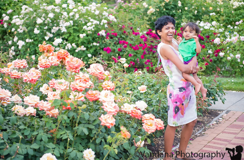 May 7, 2013 - Having fun among the flowers, Heather Farm Gardens, Walnut Creek