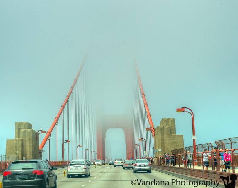 July 18, 2013 - Across the vanishing bridge