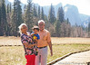 March 24, 2014 - Arjun with grandparents at Yosemite National Park