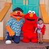 December 24, 2014 - Arjun meets his hero, Elmo at SeaWorld !! <br /> <br /> such excitement, trying to poke Elmo's and Ernie's noses, all wearing an Elmo Shirt too !
