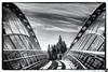 February 25, 2014 - The Iron Horse Bridge over Treat blvd