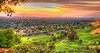 June 17, 2014 - Sunset in Ygnacio Valley