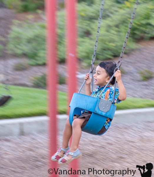 October 11, 2014 - On the swing
