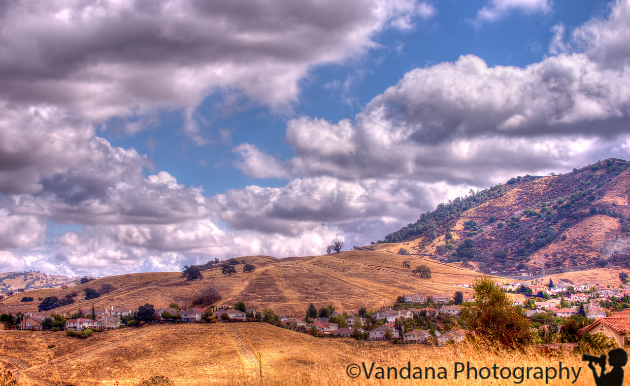 September 30, 2014 - blue skies, and popcorn clouds