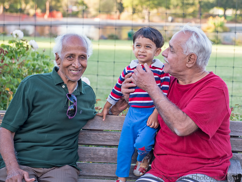 July 24, 2014 - With the grandpas