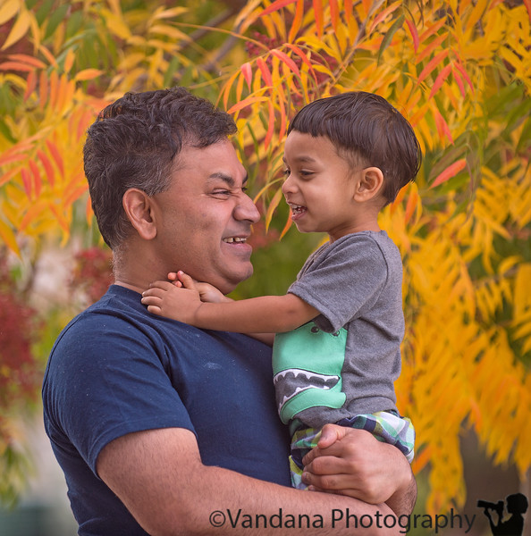 November 24, 2014 - All smiles with Dad