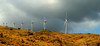 June 5, 2014 - Windmills in a storm