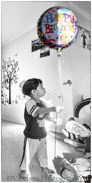 April 18, 2014 - Happy 2nd birthday to Arjun ! <br /> <br /> how time flies by !