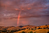 July 18, 2014 - a rainbow over the Diablo mountains