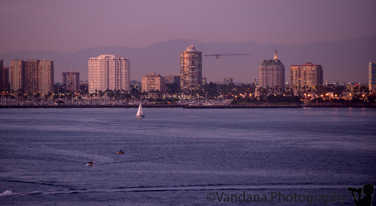 November 16, 2014 - Long beach, CA - taken from the ship