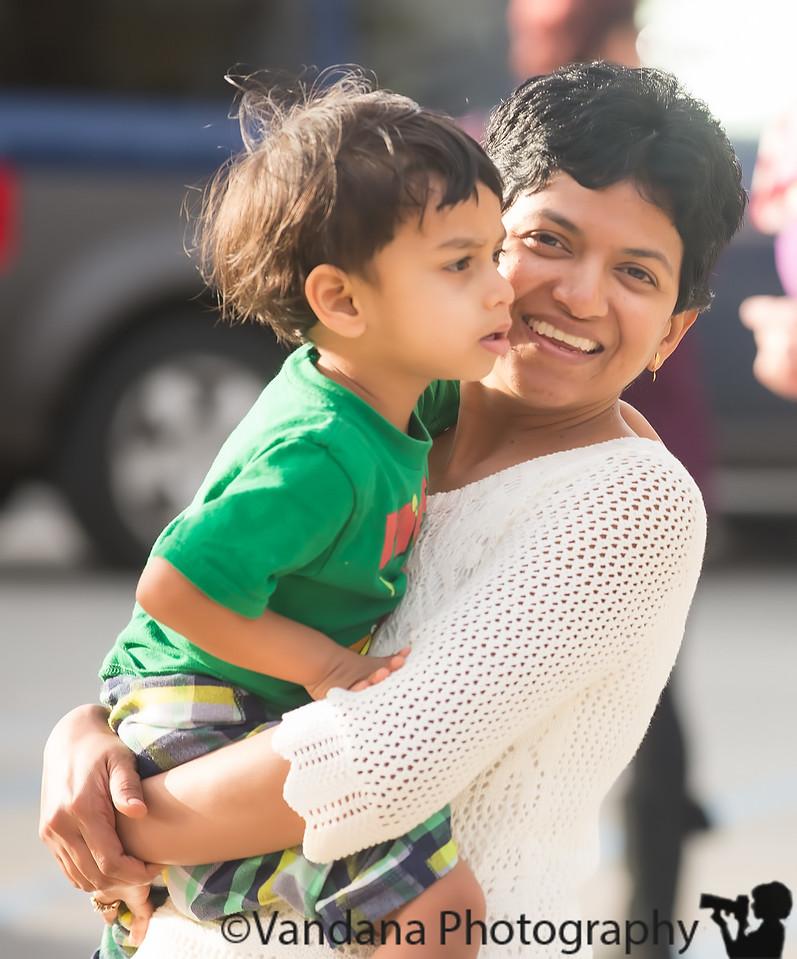 December 19, 2014 - Arjun and Mom