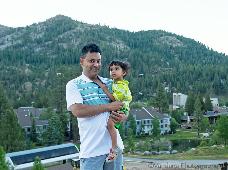 July 4, 2014 - Long weekend at Squaw Valley, Lake Tahoe
