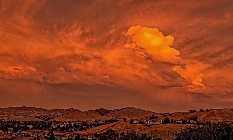 September 25, 2014 - a beautiful sunset