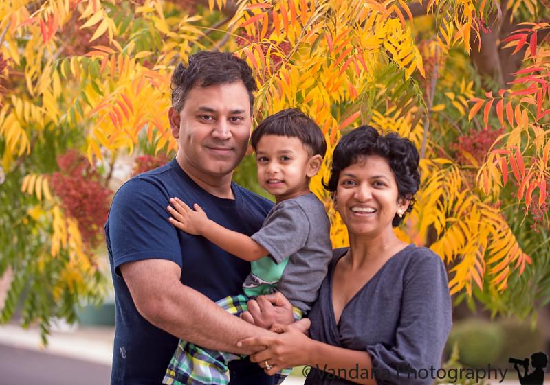 November 21, 2014 -   fall family portrait
