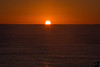 November 9, 2014 - Sunset at sea<br /> <br /> on the cruise on Carnival Miracle, day at sea. Arjun was very excited to see the sun going into the water !
