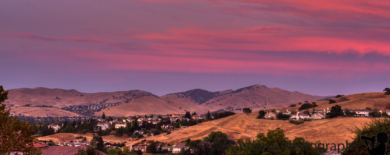 September 11, 2014 - sunset in the mountains
