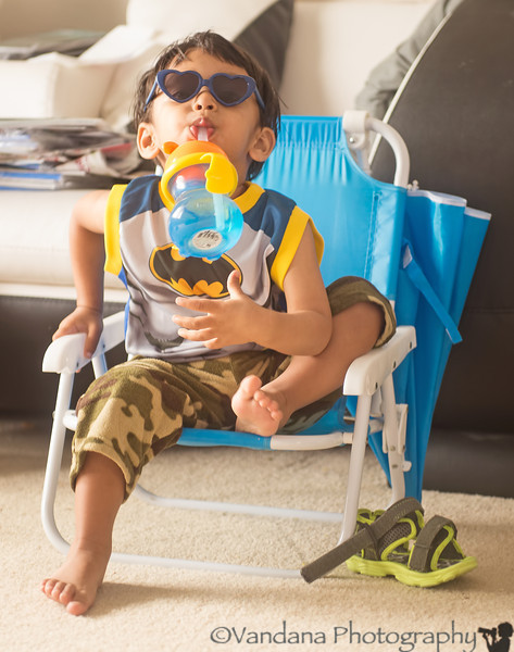 April 27, 2014 - I am Mr. Cool, I can see thru you with my heart glasses. I don't drink often, but when I do, it is with my blue sippy cup..stay thirsty, my friends !