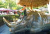 december 23, 2014 - arjun riding the rhino, san diego safari park