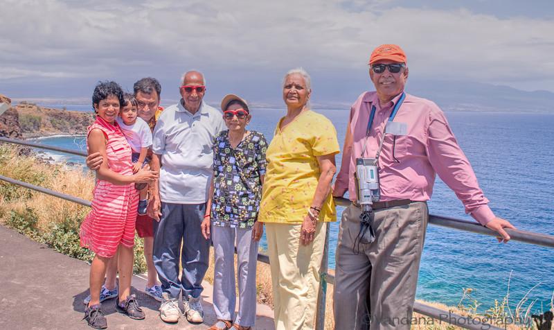 May 7, 2014 - the family at Maui