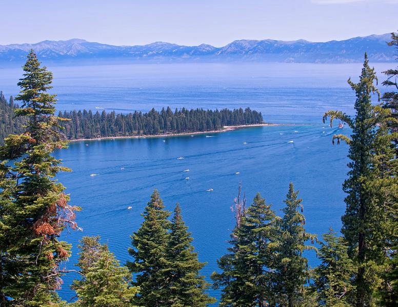 July 7, 2014 - Emerald Bay, Lake Tahoe