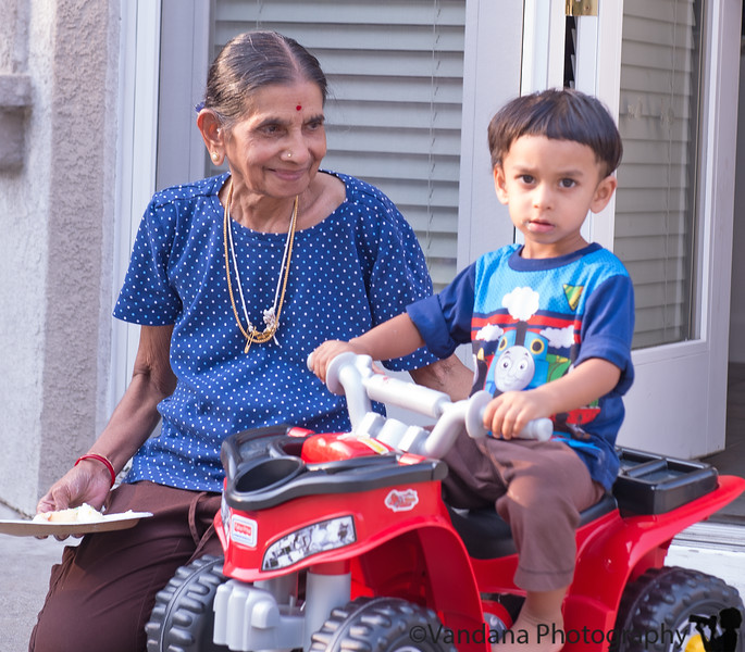 September 9, 2014 - Happy birthday to Grandma !