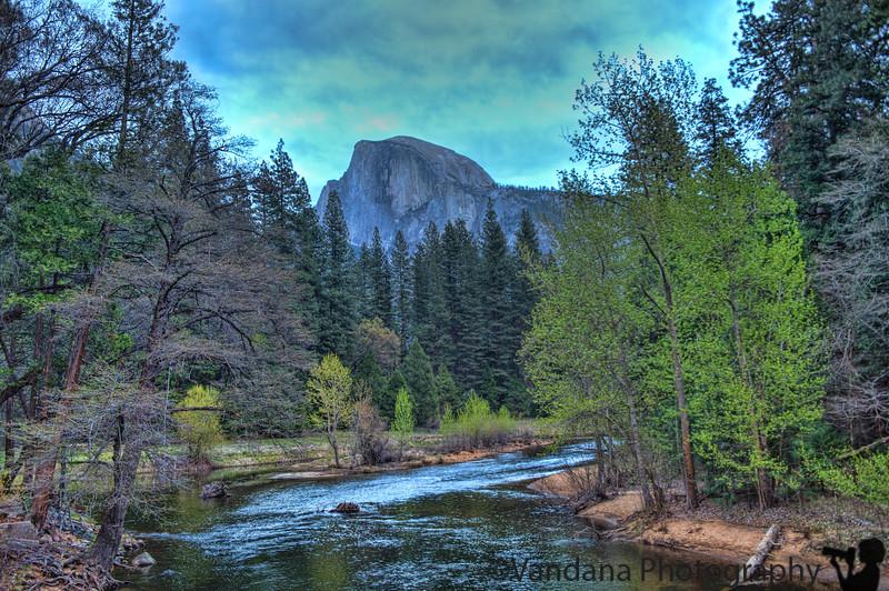 April  11, 2015 - Half dome, Yosemite