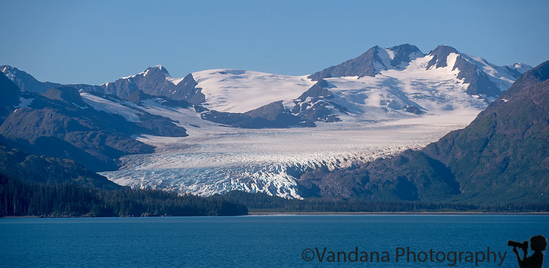 September 5, 2015 - a glacier, seen from MV Fairweather on cruise from Cordova to Whittier