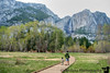 April 7, 2015 - Running to the Yosemite falls