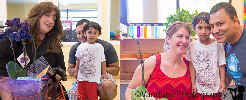 June 12, 2015 - Arjun graduates from Ms.Ann and Ms.Jamie's toddler class !