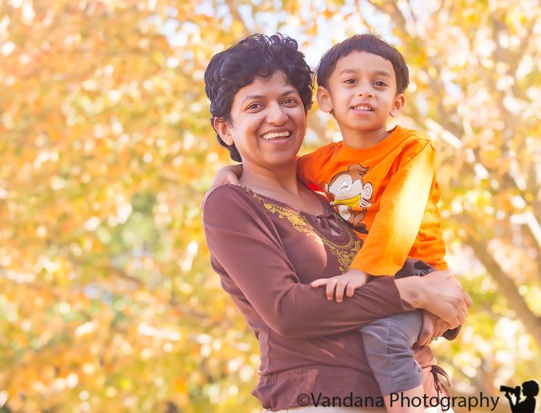 November 7, 2015 - Arjun and I at the park
