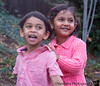 December 1, 2015 - Lovely smiles from the happy kids, Arjun and Shreya !