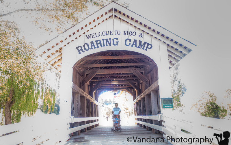 July 27, 2015 - Out to Roaring railroads for a train trip