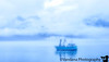 August 10, 2015 - Ship in clouds <br /> <br /> a day in foggy Valdez, and then to Cordova aboard MV Fairweather