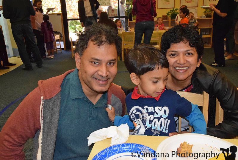 November 23, 2015 - at Thanksgiving lunch at Arjun's school